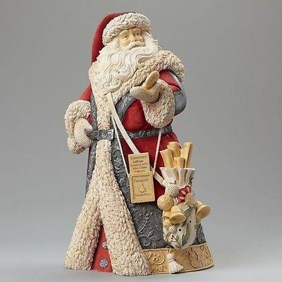 Heart Of Christmas 2015 Deluxe Santa w/Compass #4046824 NIB