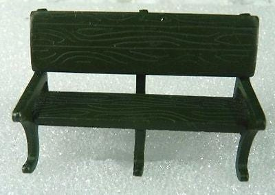 Dept 56 Green Park Bench #51098 Set/2 FREE SHIPPING 48 STATES