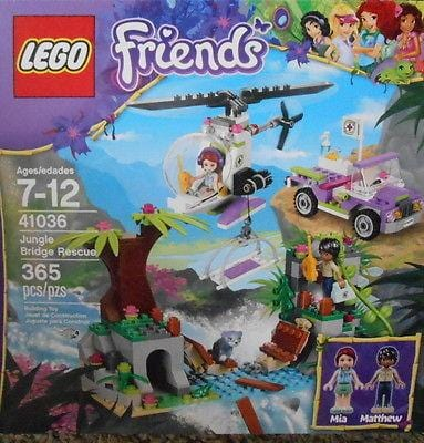 Lego Friends Jungle Bridge Rescue Set #41036 NEW FREE SHIPPING OFFER