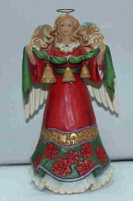 Jim Shore HWC 2016 Angel Holding Bells Ornament #4055123    FREE SHIP 48 STATES