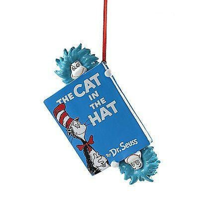Dept 56 2017 Dr. Seuss Hats Off To Cat Ornament #4053261    FREE SHIP 48 STATES