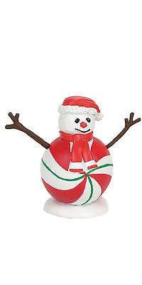 Dept 56 2017 Peppermint Peppermint Snowman #4057595      FREE SHIPPING 48 STATES