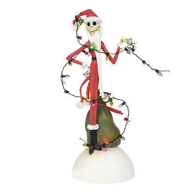 Disney 2018 NIghtmare Before Christmas Jack Tangled In Lights #6000411    Free Shipping 48 States      2018