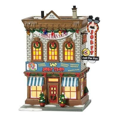 Dept 56 A Christmas Story The Joke Shop #809480 NIB FREE SHIPPING 48 STATES
