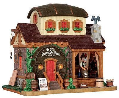 Lemax 2015 Ye Olde Barrel & Cask Makers #55959 NIB FREE SHIPPING 48 STATES
