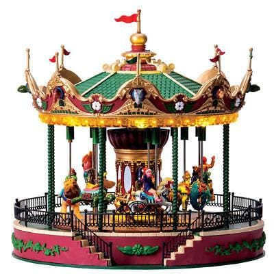 Lemax Jungle Carousel