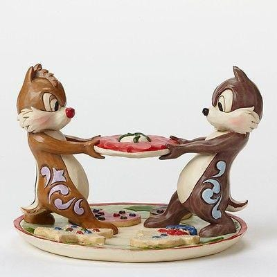 Disney Traditions 2015 Chip & Dale Plate Of Cookies #4046023 NIB FREE SHIP 48 ST