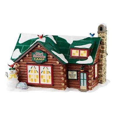 Dept 56 Snow Village 2016 Girl Scout Camp #4050982 NIB FREE SHIPPING 48 STATES