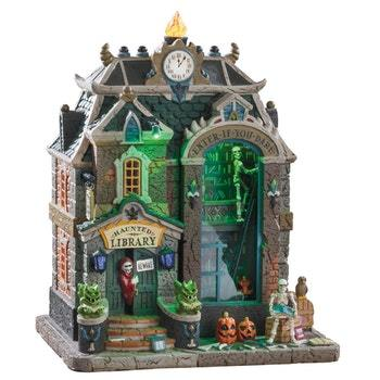 Lemax Haunted Library   #95441  Free Shipping