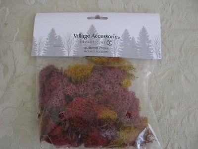 Dept 56 Village Autumn Moss #810851 NEW FREE SHIPPING 48 STATES
