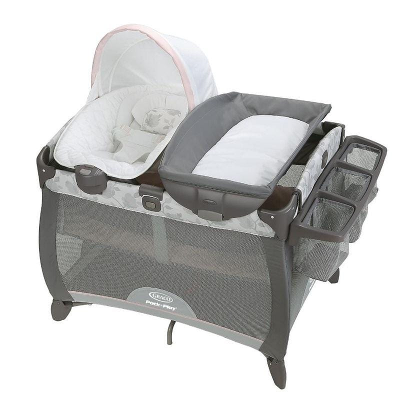 Graco Pack 'n Play Quick Connect Portable Napper Deluxe Bassinet - Diana     Free Shipping 48 States