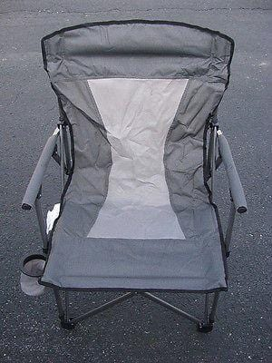 Oversize Adult Folding Arm Chair Silver FREE SHIPPING OFFER 48 STATES