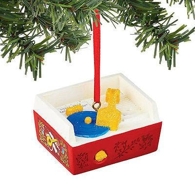 Dept 56 2015 Fisher Price Record Player Ornament #4045021 NEW FREE SHIP 48 STATE