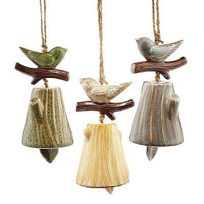 Forest Lane 2014 Bird Bell SET/3 NEW FREE SHIPPING 48 STATES