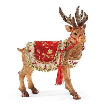 Possible Dreams Clothtique 2015 Santa's Reindeer #4049278 NIB FREE SHIP 48 STATE