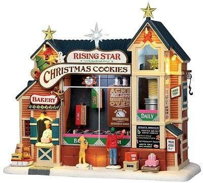 Lemax 2013 Rising Star Bakery #35557 Animated NIB