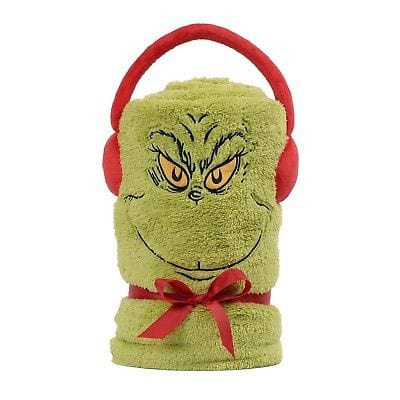 Dept 56 Grinch 2018 Snow Throw #6003284 NEW FREE SHIPPING 48 STATES   2018