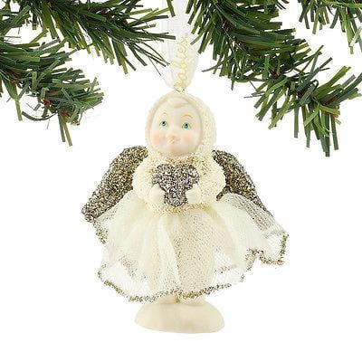 Dept 56 Snowbabies 2016 Dream Sweetheart Angel Ornament #4051920 NIB FREE SHIP