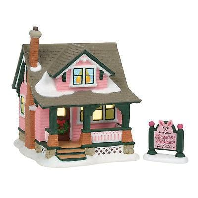 Dept 56 A Christmas Story 2018 Aunt Clara's House #6001185  Free Shipping 48 States  2018