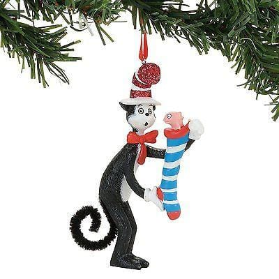 Dept 56 2017 Dr. Seuss Stripped Stocking Surprise #4057493    FREE SHIP 48 STAT