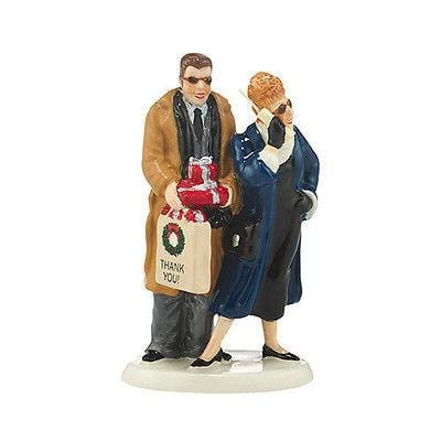 Dept 56 Snow Village 2014 Christmas Vacation Shopping w/Todd & Margo #4043911