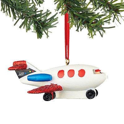 Dept 56 2015 Fisher Price Little People Plane Ornament #4045019 NEW FREE SHIP 48