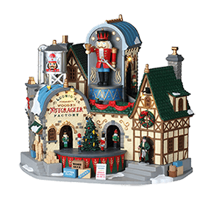 Lemax Ludwig's Wooden Nutcrackers Factory   #95463   Free Shipping