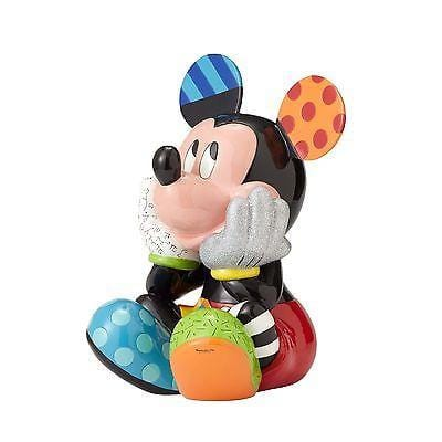 Britto Disney Mickey & Minnie Mouse Big Figure LIMITED EDITION Set/2