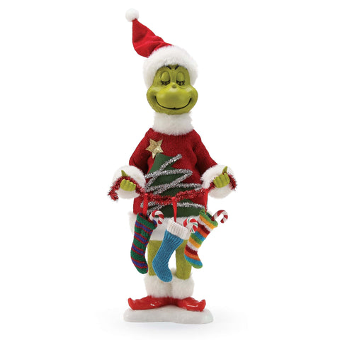 Possible Dreams Clothtique 2018 Grinch All The Trimmings #6000683 Free Shipping 48 States   2018
