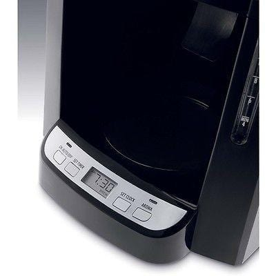 De'Longhi DCF2212T Coiffee Maker Black Stainless Programmable Drip 12 Cup Carafe