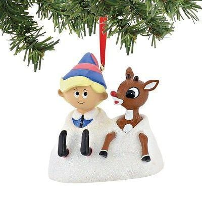 Dept 56 Rudolph 2015 Hermey & Rudolph Ornament #4045006 NEW FREE SHIP 48 STATES