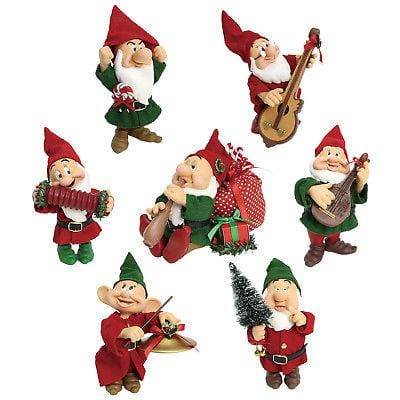 Possible Dreams Clothtique 2018 Seven Dwarfs Christmas Celebration #6001837  Free Shipping 48 States   2018