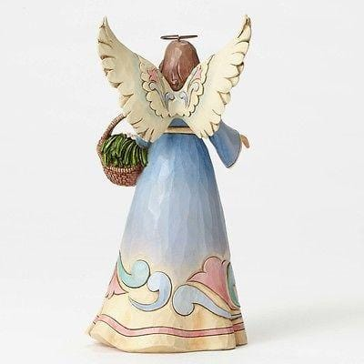 Jim Shore 2015 Grandmother Angel w/Basket #4052054 NIB FREE SHIPPING 48 STATES