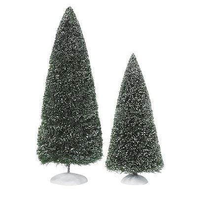 Dept 56 Bag-O-Frosted Topiaries (Set/2) #53018 NEW FREE SHIPPING 48 STATES