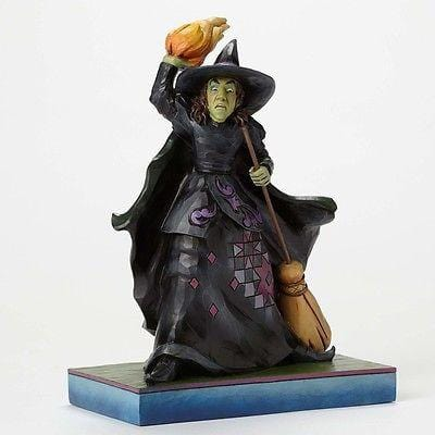 Jim Shore The Wizard Of Oz 2015 Wicked Witch Throwing Fire #4049674 NIB