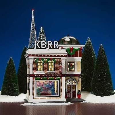 Dept 56 Snow Village KBRR TV #55337 NIB