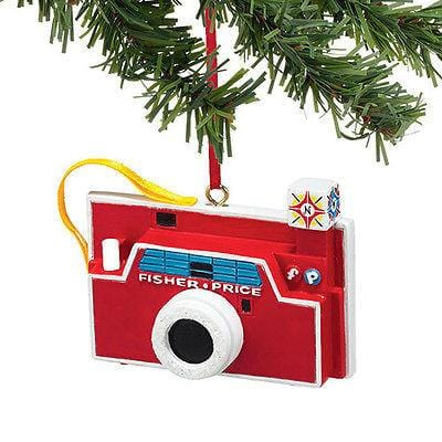 Dept 56 2014 Fisher Price Camera Ornament #4040598 NEW FREE SHIPPING 48 STATES