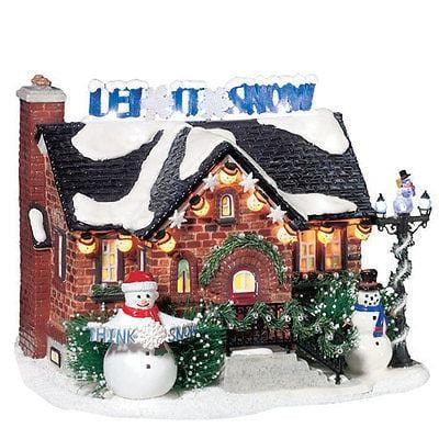 Dept 56 Snow Village The Snowman House #55390 NIB FREE SHIPPING