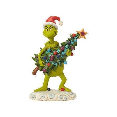 Jim Shore Grinch 2018 Grinch Stealing Tree #6002067 NEW FREE SHIPPING 48 STATES   2018