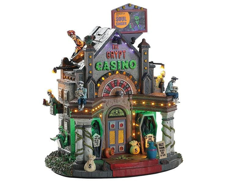 Lemax The Crypt Casino #85307   Free Shipping 48 States