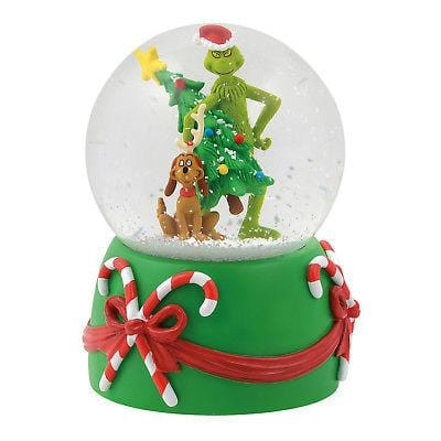 Dept 56 Grinch 2018 Stealing Tree Musical Globe #6000440 NEW  Free Shipping 48 States  2018