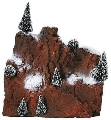 Lemax #81013 Village Mountain Backdrop Small NIB FREE SHIPPING OFFER