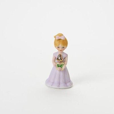 Enesco Growing Up Girls Birthday Blonde Age 4 #E2304 NIB FREE SHIPPING 48 STATES
