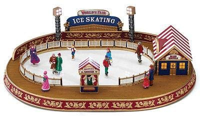 Mr. Christmas World's Fair Skating Rink #79869 NIB FREE SHIPPING 48 STATES