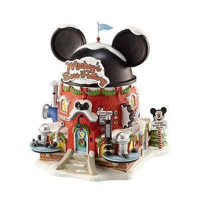 Dept 56 North Pole 2011 Mickey's Ears Factory #4020206 NIB FREE SHIP 48 STATES