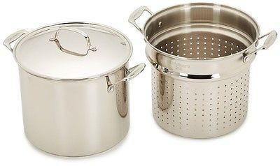 Cuisinart Chef's Classic Stainless 12Qt. Pasta Steamer Set/4 NIB FREE SHIP OFFER
