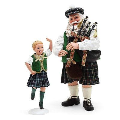 Possible Dreams Celtic Holiday 2018 Country Dance Set/2 #6000724   2018
