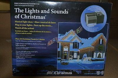 Mr. Christmas Wireless Lights & Sounds Of Christmas NIB