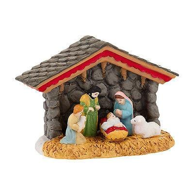 Dept 56 Alpine 2013 Alpine Nativity #4030341 NIB FREE SHIPPING