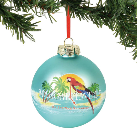 Margaritaville 2018 It's 5 O'Clock Somewhere Ornament #6000361 NEW FREE SHIPPING    2018